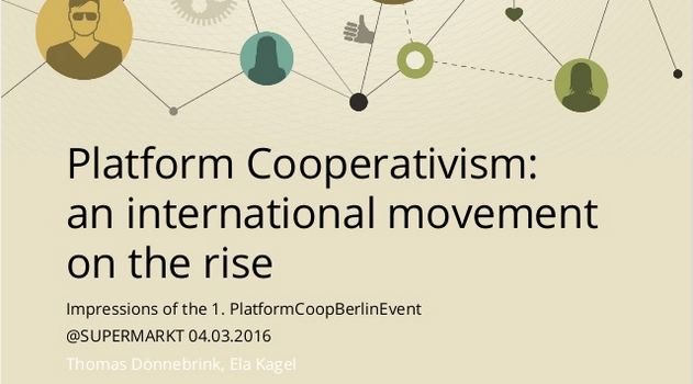 Platform Cooperativism – A Movement on the Rise