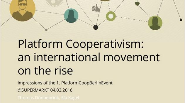 Platform Cooperativism – A Movement on the Rise
