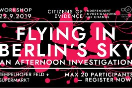 FLYING IN BERLIN'S SKY, AN AFTERNOON INVESTIGATION