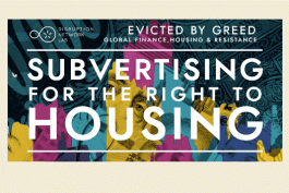 POSTPONED: Subvertising for the Right to Housing
