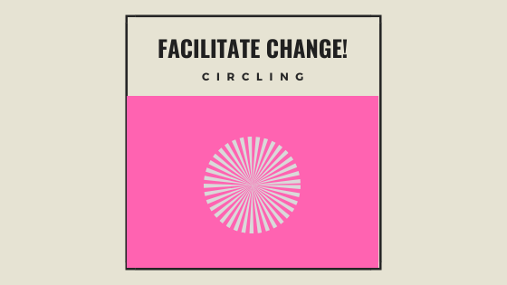 CANCELLED FOR NOW: Facilitate Change! Workshop 17: Circling