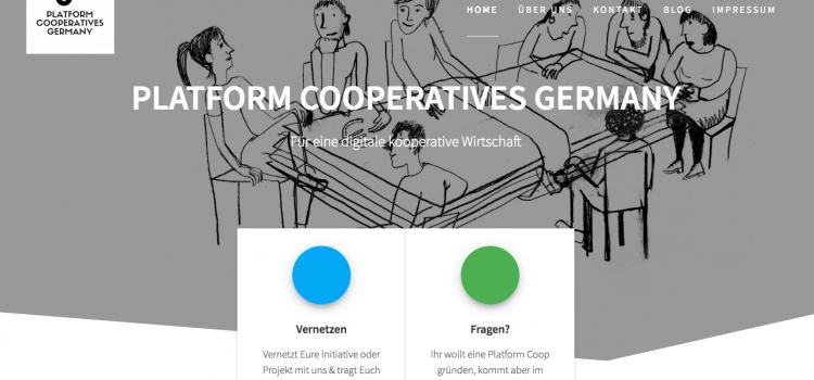 Platform Coop Netzwerk für Deutschland: Ankündigung des Starts unseres IGP-Projekts